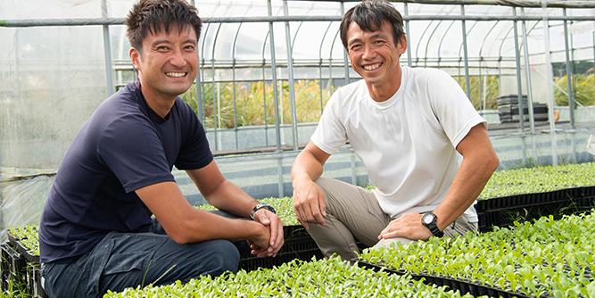 写真:遠藤さんと濱野さんが微笑んでいる様子2